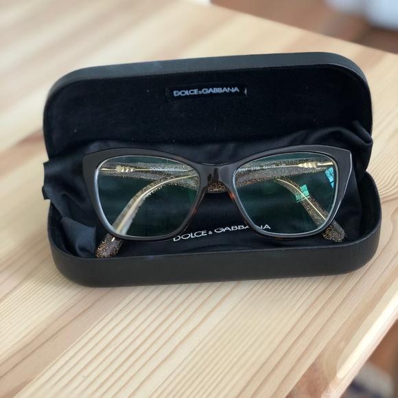 c92983b08937 Dolce   Gabbana Accessories - DOLCE   GABBANA Rx-able Eyeglasses Frames